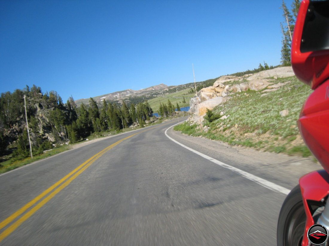 scenic views on beartooth pass