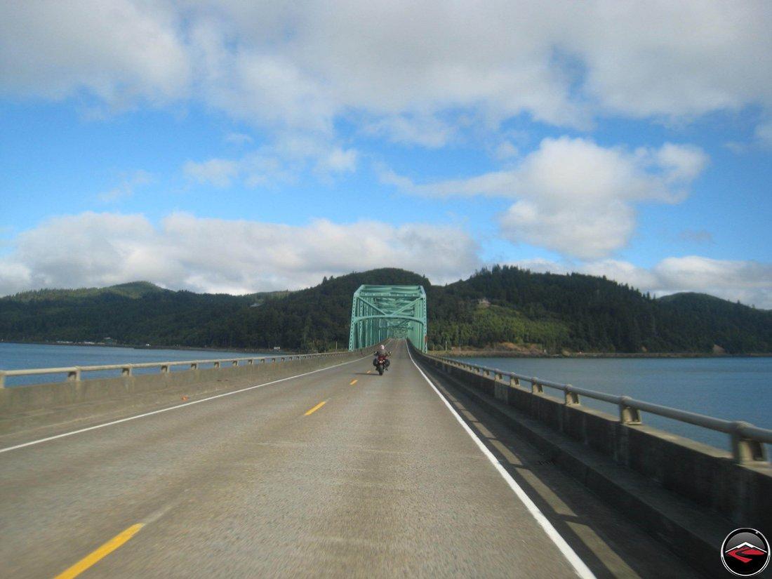 Entering Washington State from Astoria, Oregon