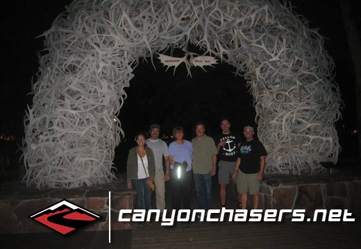 Obligatory, Jackson Hole, Antler Arch photo