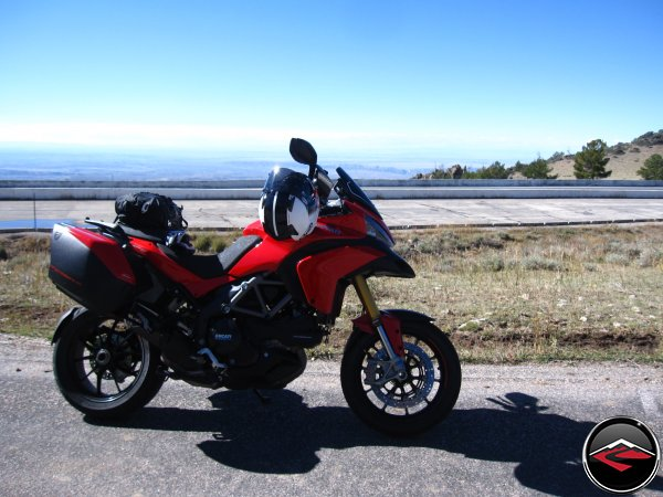 Multistrada on a Mountain