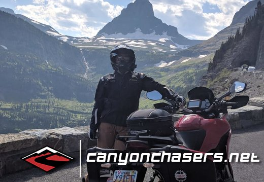 Multistrada 1200 Glacier National Park
