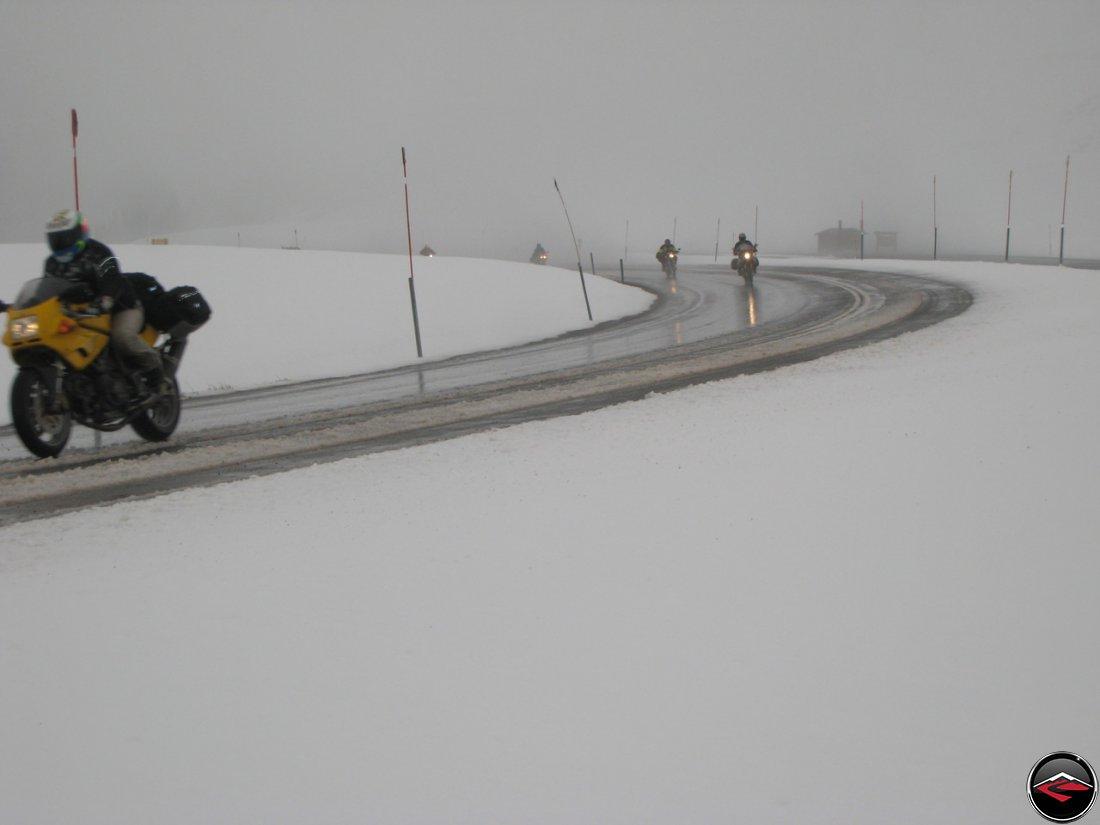 Kris in the snow