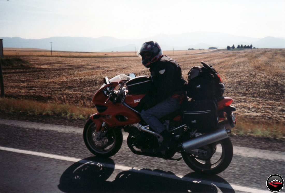 Dave on the Suzuki TL1000S