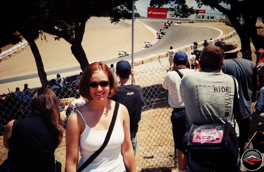 Kris at the Corkscrew