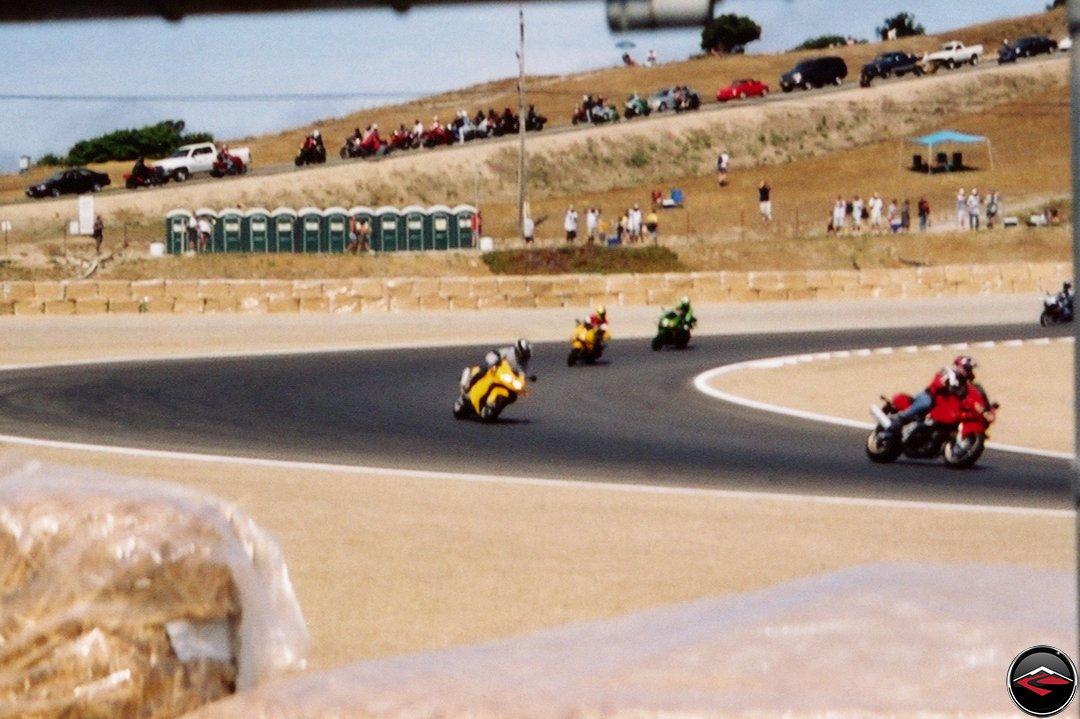 Dave at Laguna Seca Raceway Parade Lap