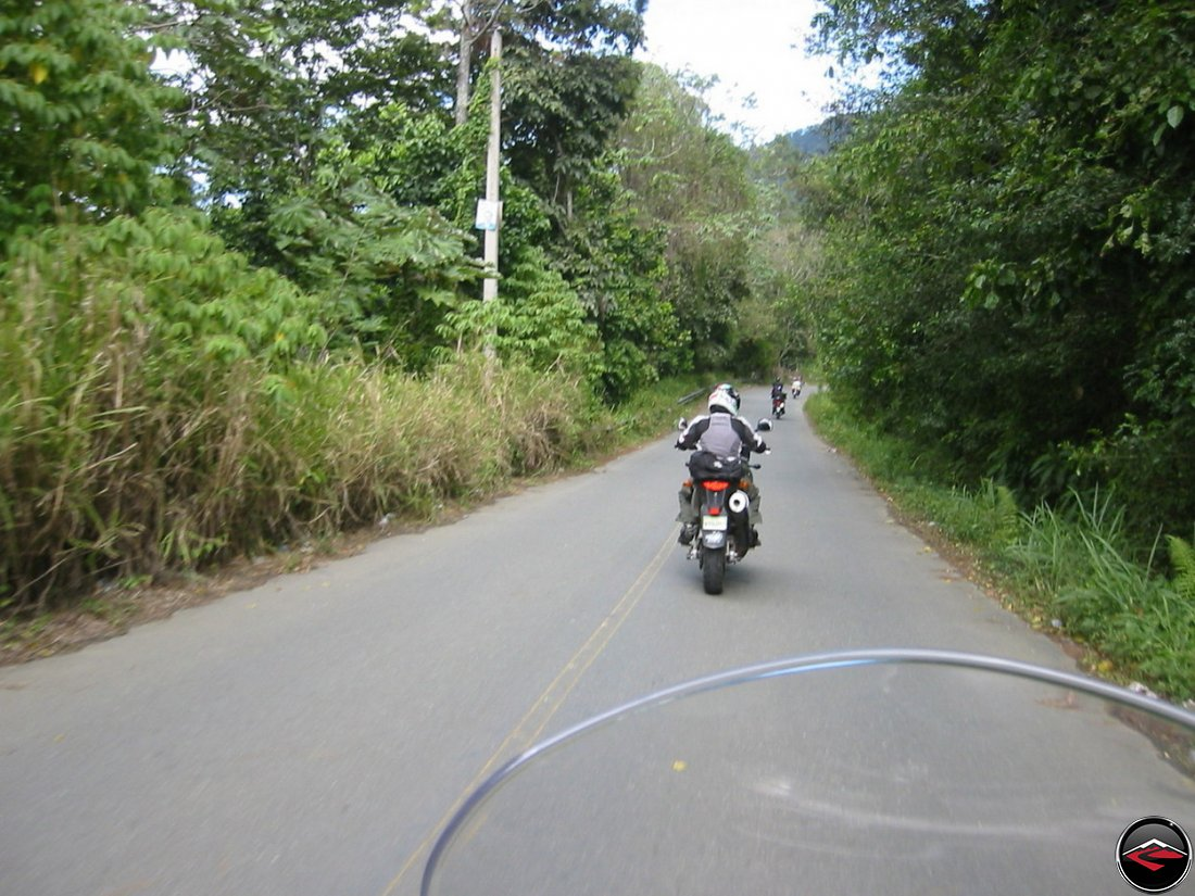 motorcycle riding on the caribbean island of hispanola