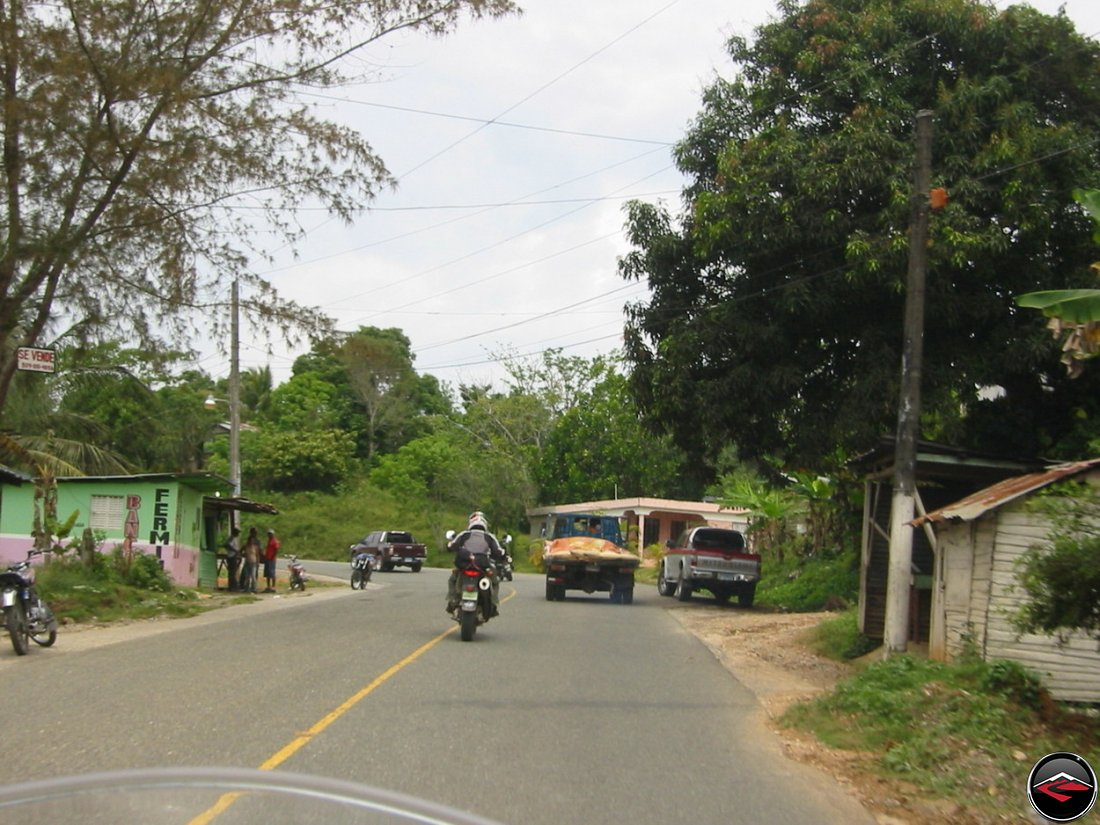 slow trucks in samana dominican republic