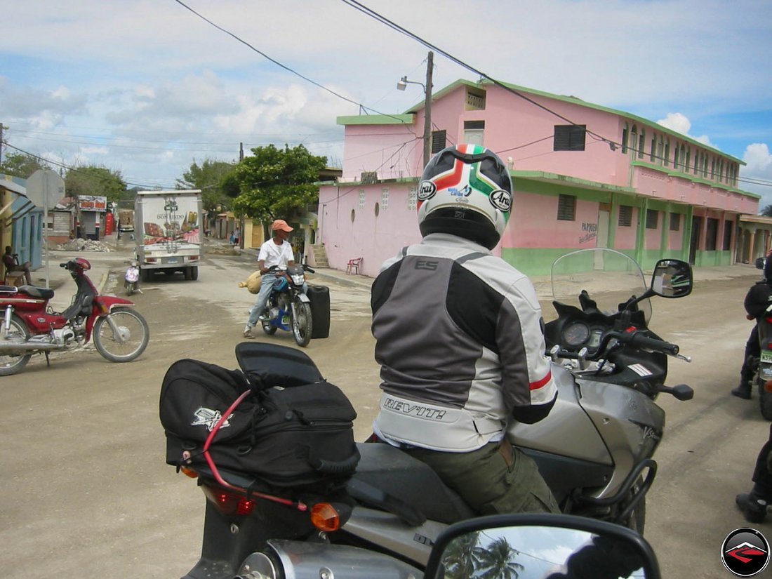 bike of burdan in the dominican republic