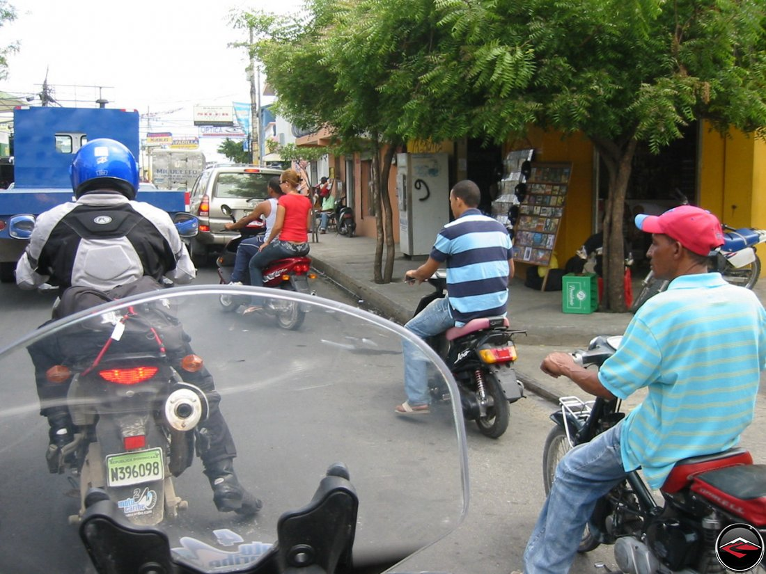 dominican republic traffic jam