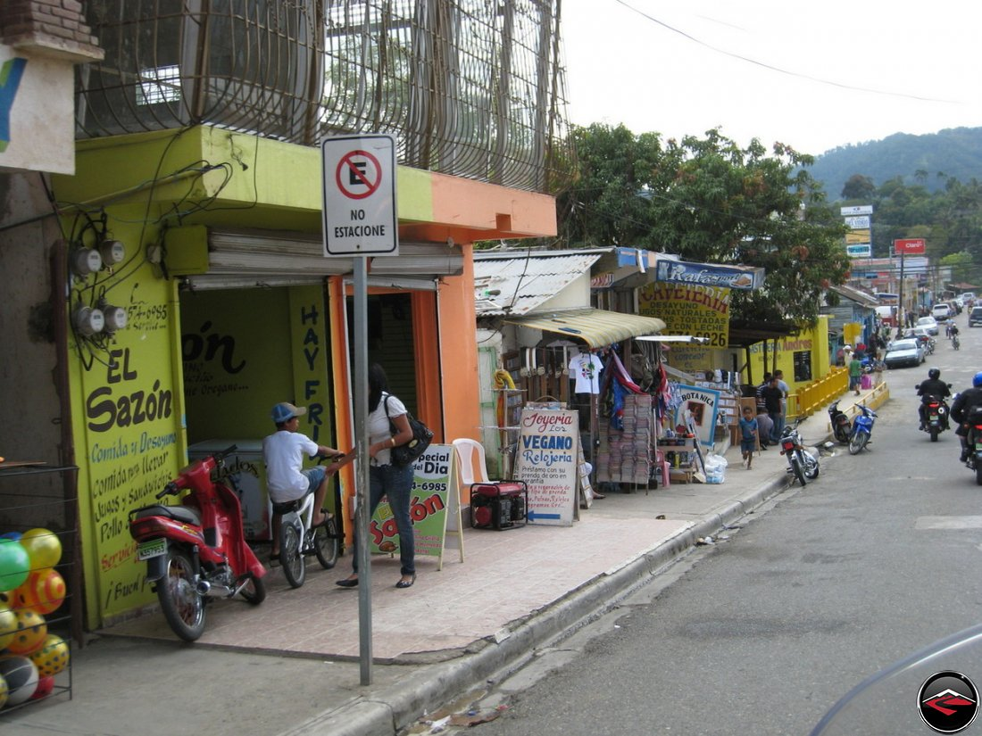 Downtown Jarabacoa in the Dominican Republic