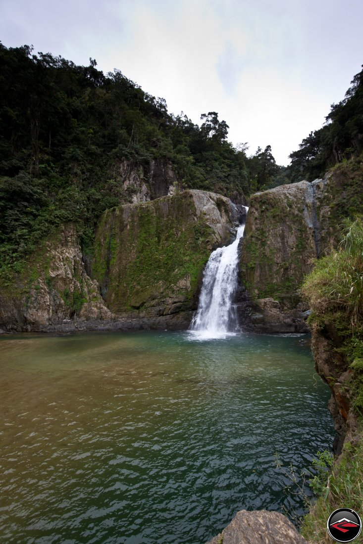 Al Salto Waterfall near Jarabacoa Dominican Republic
