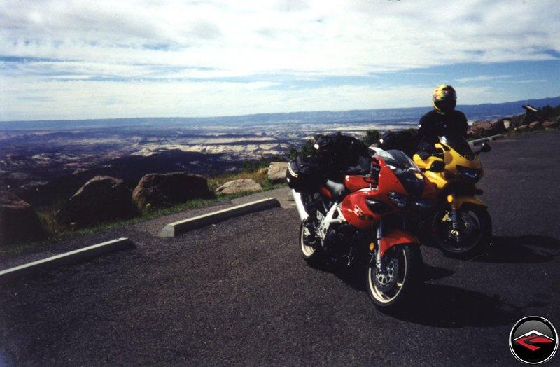 The top of Highway 12, Suzuki TL1000S, VTR1000 SuperHawk