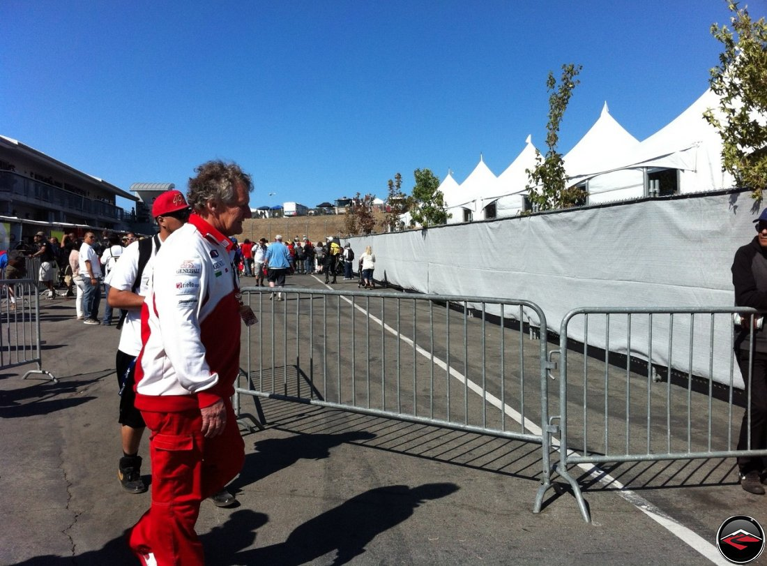 2012 Ducati MotoGP Crew Chief Jeremy Burgess