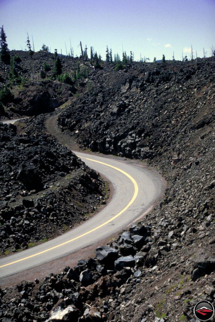 McKenzie Pass in Oregon