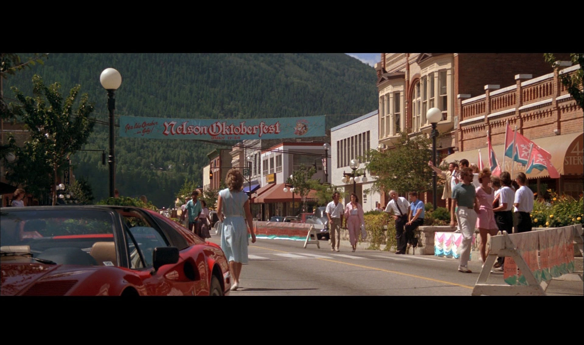 Roxanne Film Screen Shot, Nelson British Columbia